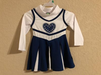 Dollie & Me Adorable Cheerleader Dress. Perfect For The Dallas Cowboys! Size 2T