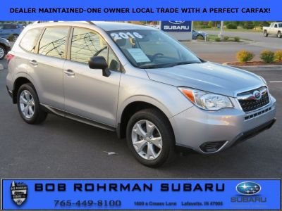 2016 Subaru Forester 2.5i (Ice Silver Metallic)