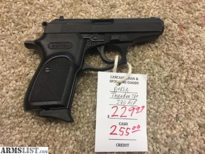 For Sale: BERSA THUNDER 380 ACP MADE IN ARGENTINA
