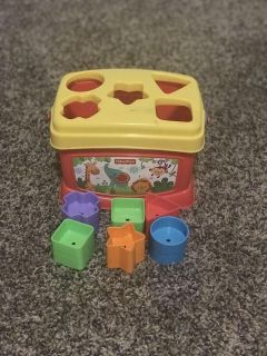 Fisher price block shapes