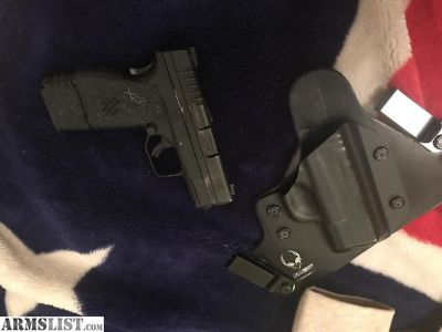 For Sale: Springfield xds 9mm