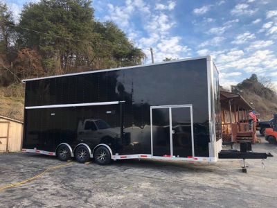NEW 2019 8.5 x 30 OUTLAW STACKER RACE TRAILER