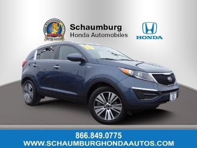 2016 Kia Sportage EX (Twilight Blue)