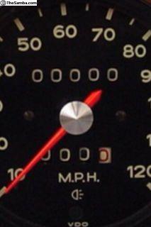 Porsche Speedometer Gauge Odometer Fix 914 924 944