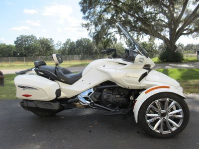 2016 Can Am Spyder F3 (White)