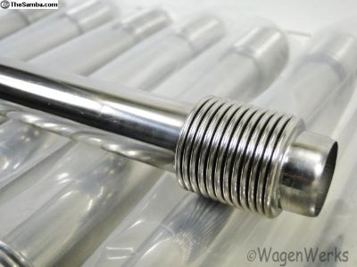 1300cc to 1600cc Push Rod Tubes - Stainless Steel