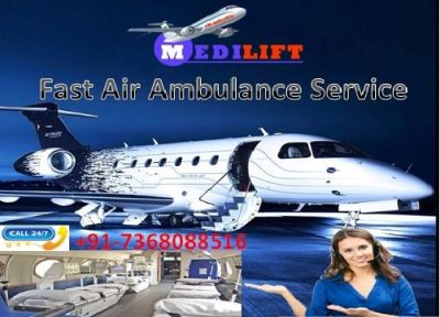 Fastest and Emergency Air Ambulance Services in Guwahati