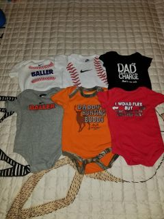 Size 6-9 month onesies