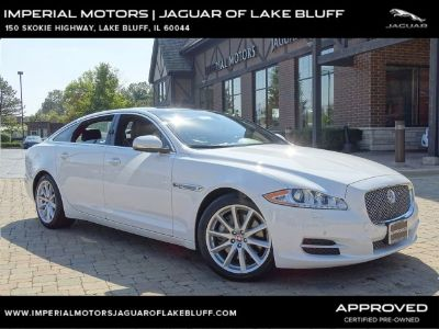 2014 Jaguar XJL Portfolio (Polaris White)