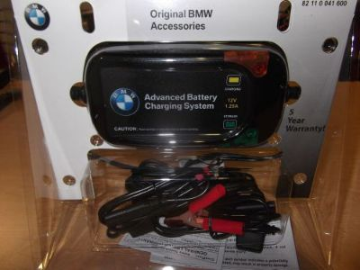 Purchase BMW Battery Advanced Charger Trickle System 82110041600 OEM motorcycle in Palm Harbor, Florida, United States, for US $62.00