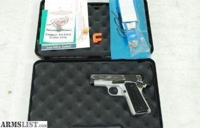 For Sale: Kimber Onyx Ultra II 9mm 1911 Custom shop
