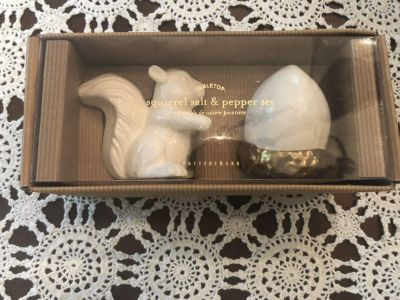 Pottery Barn Salt and Pepper Shakers