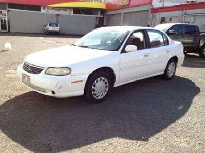 $2,950 1999 CHEVY MALIBU WHITE 4Dr. SEDAN