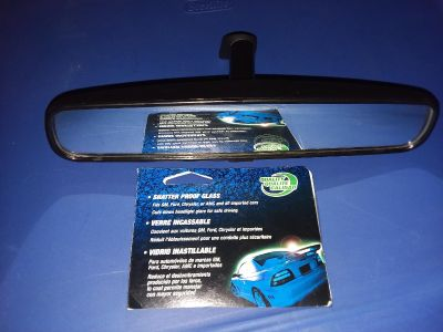 *Rear view mirror (fits GM, Ford, Chrysler or AMC & all imported cars)