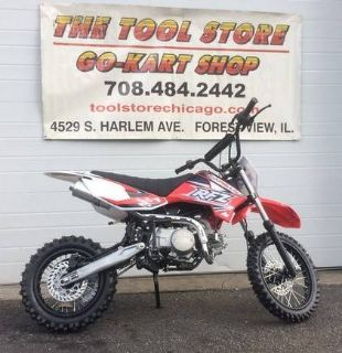 2017 Apollo RFZ-125 Competition/Off Road Motorcycles Forest View, IL