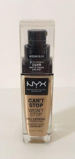 NYX Can t Stop Won t Stop Foundation