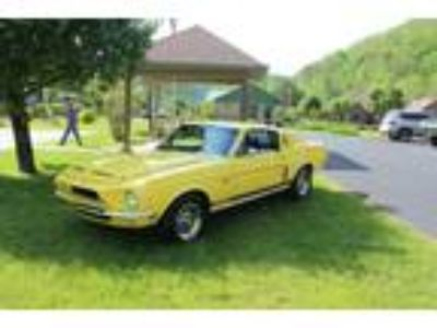 1968 Ford Mustang GT500 Yellow Manual