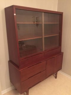 1956 mid century cabinet IN GREAT CONDITION