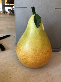Large Pear Decor