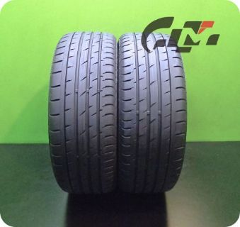 Sell 2 Continental Tires 205/45/17 ContiSportContact 3 84V RunFlat OEM BMW #37332 motorcycle in Pompano Beach, Florida, United States, for US $500.00