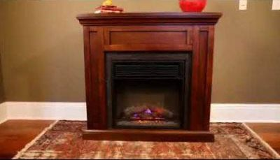 Fireplace Wood Mantel and Surround- Fireplace Insert NOT Included- New