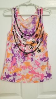 Justice Jeweled Tank size 7