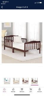 Beautiful Toddler Bed with Mattress Included
