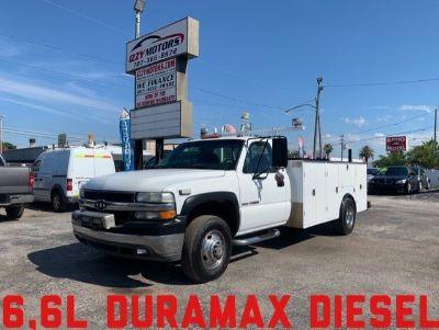 2001 Chevrolet Silverado 3500 Duramax (White)