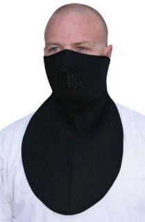 Purchase Zan Headgear Half-Face Neoprene Mask w/NeckShield Black motorcycle in Holland, Michigan, United States, for US $13.48