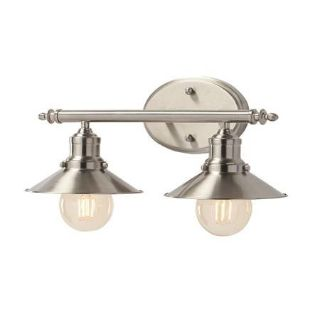 Retro 2 Light Vanity Fixture - New!
