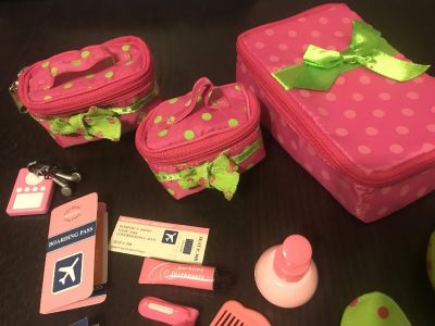 Our Generation Doll Luggage and Travel Set for 18 Dolls Excellent Condition $8.00