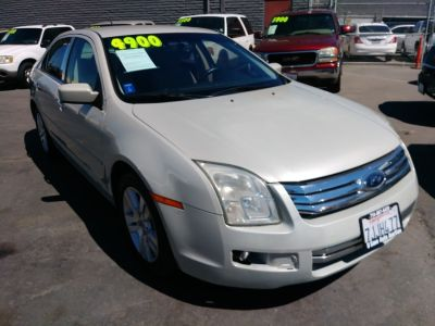 2008 Ford Fusion V6 SEL (White Suede)