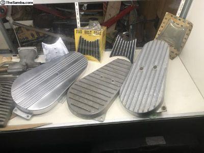 [WTB] Cast finned Aluminum Belt Guards Vintage!