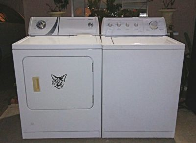 WASHER AND GAS DRYER SET