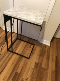 Two brand new side tables