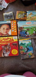 Lot of baby books 7 in all