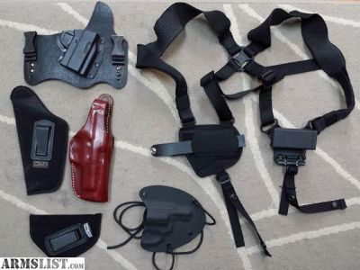 For Sale: Holsters for many different pistols