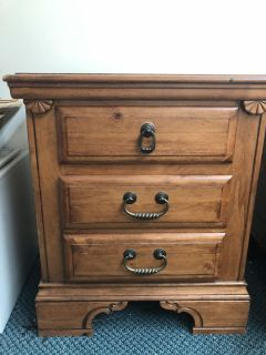 Chest of Drawers and Nightstand set