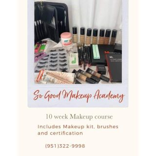 10 week make up course