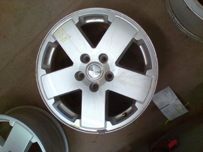 Sell 2010 2011 2012 JEEP WRANGLER Wheel 18x7-1/2, 5 SPOKE PAINTED SILVER motorcycle in Eagle River, Wisconsin, United States, for US $110.00