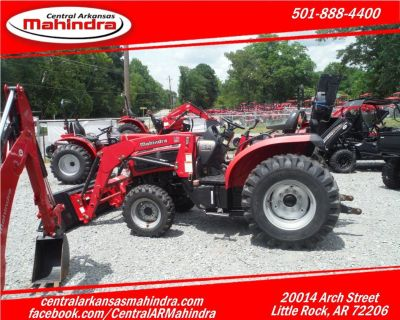 Mahindra 35 HP 4X4 with Loader
