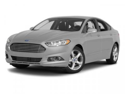 2015 Ford Fusion Titanium (Red)