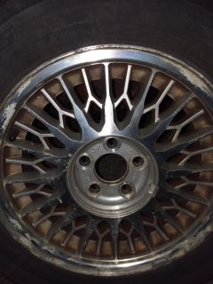 4 5x108 Ford rims and tires
