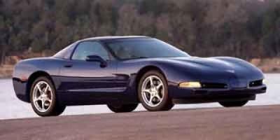2004 Chevrolet Corvette Base (Magnetic Red Metallic Ii)