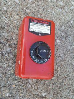 Temperature Control Chromalox Thermostat 200 - 550F