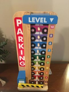 Melissa and Doug Educational Parking Tower