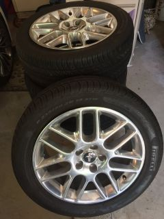 Mustang Pony package tires & rims