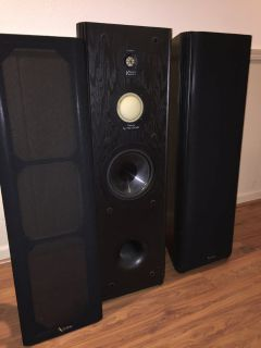 Infinity Kappa 6.1 Series II Tower Speaker Pair