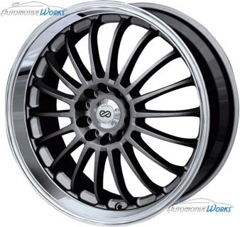 "Buy 16x7 Enkei FN-18 5x100 5x114.3 5x4.5 +42mm Gunmetal Rims Wheels Inch 16"" motorcycle in Roanoke, Texas, US, for US $719.99"