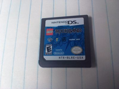 Nintendo game cartridge. Rock band. I have more games on my page.